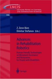 Cover of: Advances in rehabilitation robotics |