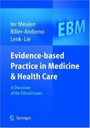 Cover of: Evidence-based Practice in Medicine and Health Care |