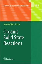 Cover of: Organic Solid State Reactions