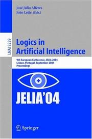 Cover of: Logics in Artificial Intelligence |