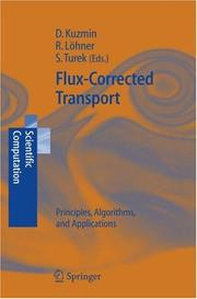 Cover of: Flux-corrected transport |
