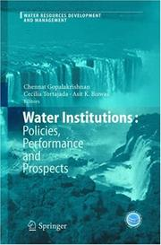 Water Institutions by