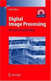 Cover of: Digital Image Processing | Bernd Jähne
