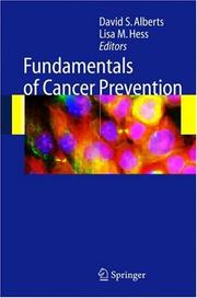 Cover of: Fundamentals of Cancer Prevention |