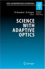 Cover of: Science with Adaptive Optics |