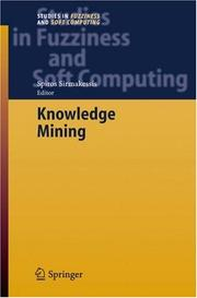 Cover of: Knowledge Mining | Spiros Sirmakessis