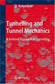 Cover of: Tunnelling and Tunnel Mechanics | Dimitrios Kolymbas