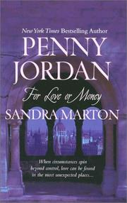 Cover of: For Love or Money | Penny Jordan