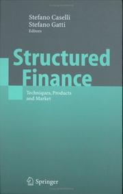 Cover of: Structured Finance |