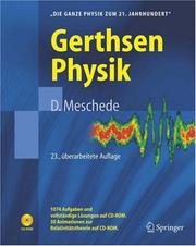 Cover of: Gerthsen Physik