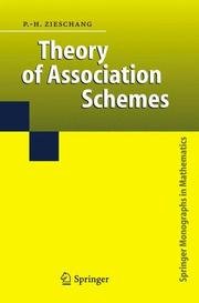 Cover of: Theory of Association Schemes