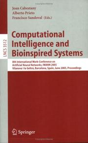 Cover of: Computational intelligence and bioinspired systems |