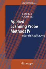 Cover of: Applied scanning probe methods IV