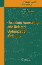 Cover of: Quantum Annealing and Related Optimization Methods (Lecture Notes in Physics) |