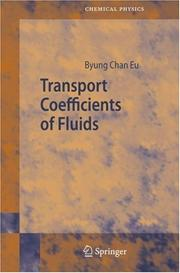 Cover of: Transport Coefficients of Fluids