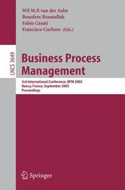 Cover of: Business Process Management |