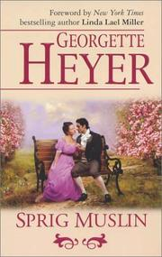 Cover of: Sprig Muslin (Harlequin Single Title) | Georgette Heyer