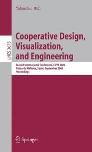 Cover of: Cooperative Design, Visualization, and Engineering | Yuhua Luo