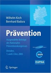 Cover of: Pra vention |