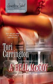 Cover of: A real McCoy | Tori Carrington