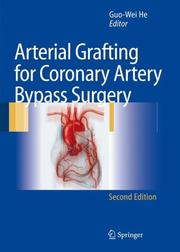 Cover of: Arterial Grafting for Coronary Artery Bypass Surgery |