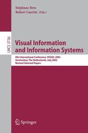 Cover of: Visual Information and Information Systems |