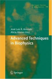 Cover of: Advanced Techniques in Biophysics (Springer Series in Biophysics) |
