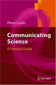 Cover of: Communicating Science
