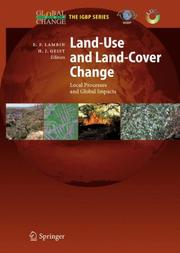 Cover of: Land-use and land-cover change