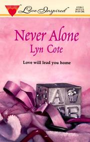 Cover of: Never Alone (Love Inspired , No 30)