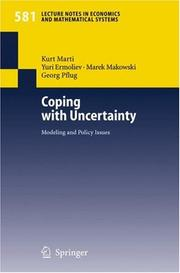 Cover of: Coping with Uncertainty |