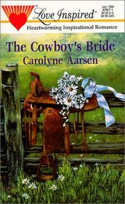 Cover of: The Cowboy's Bride