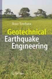 Cover of: Geotechnical Earthquake Engineering | Ikuo Towhata