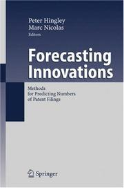 Cover of: Forecasting Innovations |
