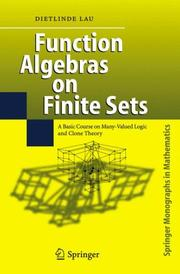 Cover of: Function Algebras on Finite Sets