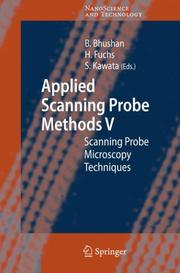 Cover of: Applied scanning probe methods V