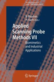 Cover of: Applied Scanning Probe Methods VII (NanoScience and Technology) |