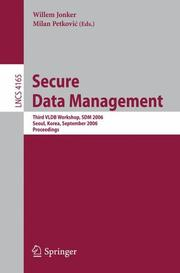 Cover of: Secure Data Management |