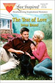Cover of: Test Of Love
