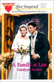 Cover of: A Family At Last