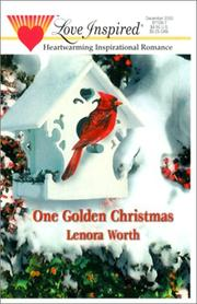 Cover of: One Golden Christmas | Worth