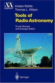 Cover of: Tools of radio astronomy | K. Rohlfs