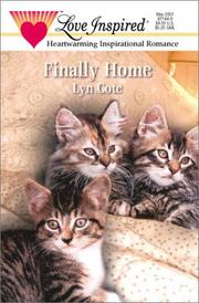 Cover of: Finally Home (Bountiful Blessings)