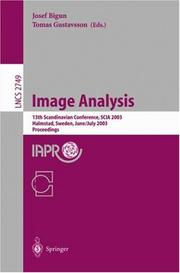 Cover of: Image Analysis |