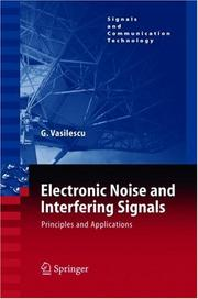 Cover of: Electronic noise and interfering signals | Gabriel Vasilescu