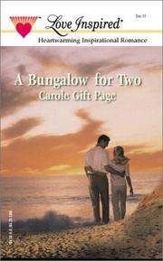 Cover of: Bungalow For Two | Carole Page