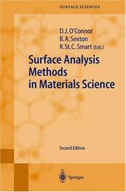Cover of: Surface Analysis Methods in Materials Science |