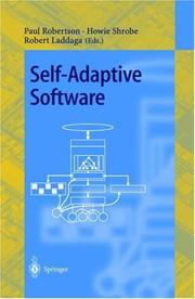 Cover of: Self-Adaptive Software |