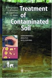 Cover of: Treatment of contaminated soil |