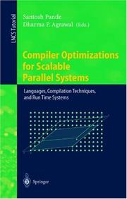 Cover of: Compiler Optimizations for Scalable Parallel Systems |